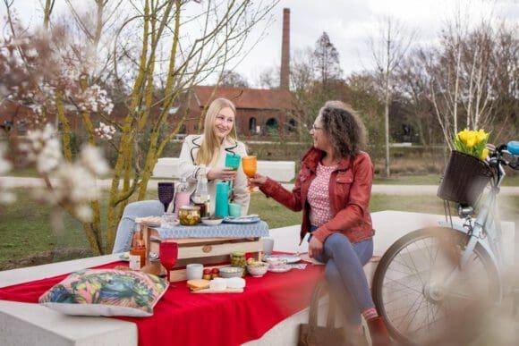 Picknickplätze für den Ausflug im Münsterland