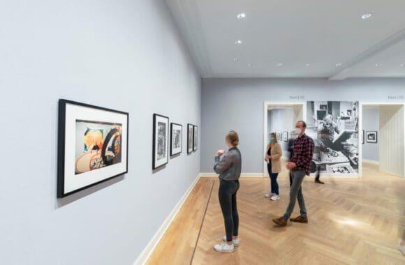 Fotoausstellung im Picasso-Museum