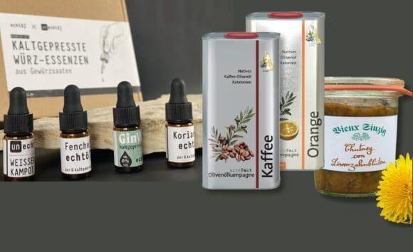 Echtöl zum Würzen und Mixen nutzen