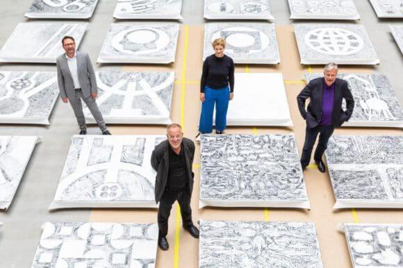 Matt Mullican kreiert neue Kunstwerke