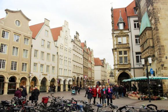 Münsteraner weniger mit dem Rad unterwegs