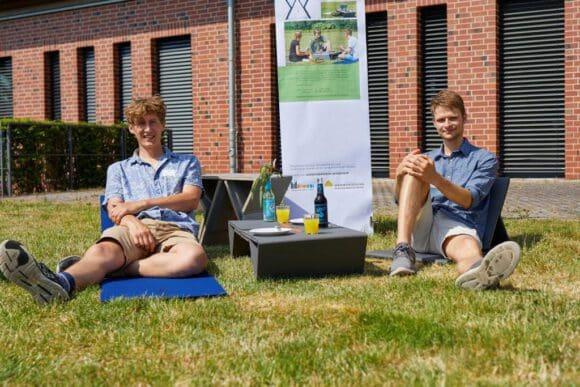 Picknickequipment für das Münsterland entwickelt