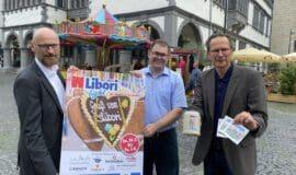 Libori light lockt in Paderborn Kirmes-Fans