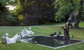 Eisenman Skulptur kehrt nach Münster zurück
