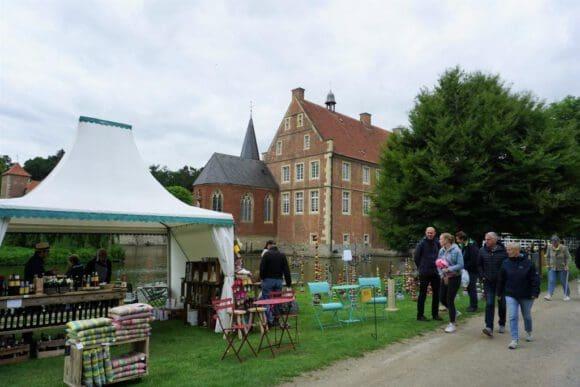 Bezaubernde Gartenträume auf der Burg Hülshoff