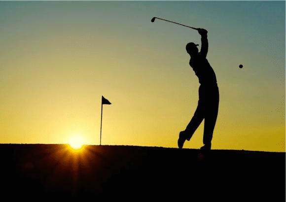 Sport und Spiel auf dem Golfkurs