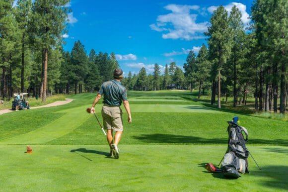 Ein Golfkurs bietet tolle Unterhaltung