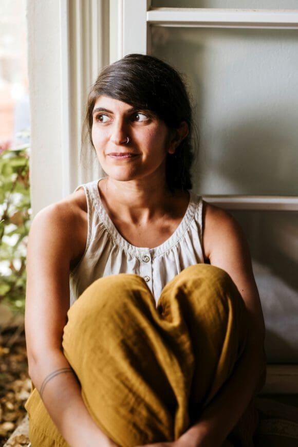 """Shida Bazyar liest aus ihrem Buch """"Drei Kameradinnen"""" - Foto Tabea Treichel"""