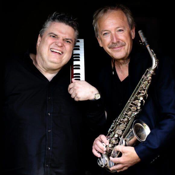 Sind beim Kultursommer in Arnsberg zu hören: George Nussbaumer und Richard Wester - Foto Richard Wester