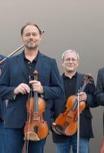 Das weltweit bekannte Leipziger Streichquartett gastiert am 24. September in Warstein - Foto Volkmar Heinz