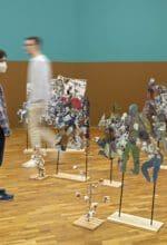 Anna Boghiguian, Woven Winds. The Making of an Economy – Costly Commodities, 2016, Ausstellungsansicht, MGKSiegen, Courtesy E. Righi Collection, © die Künstlerin, Foto: Philipp Ottendörfer