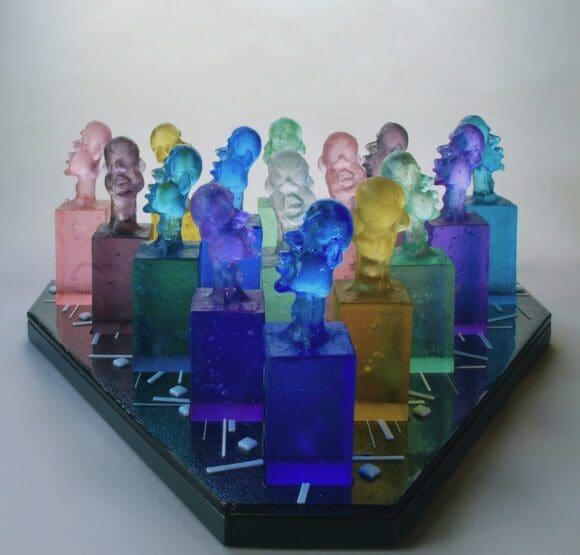 Glaskunst in Coesfeld: Revue der Meisterschaft