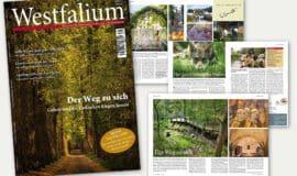Am 8.9. im Handel: Die Westfalium-Herbstausgabe