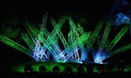 Lichtspiele im Sauerlandpark Hemer