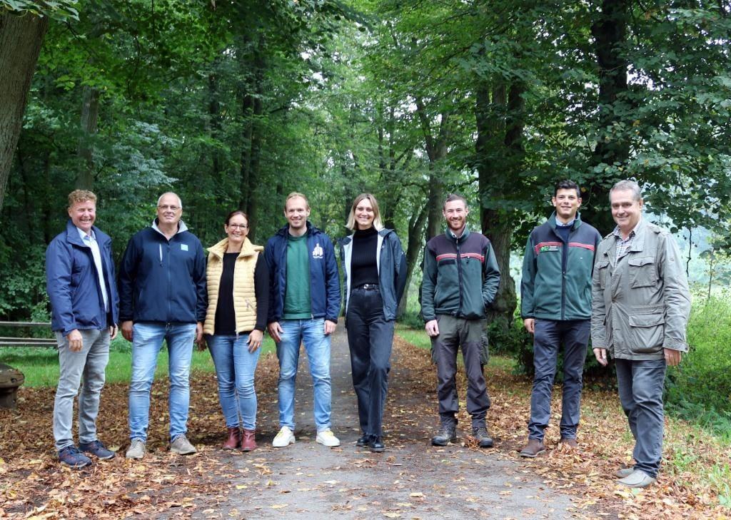 Campuswald in Paderborn mit 25.000 Bäumen