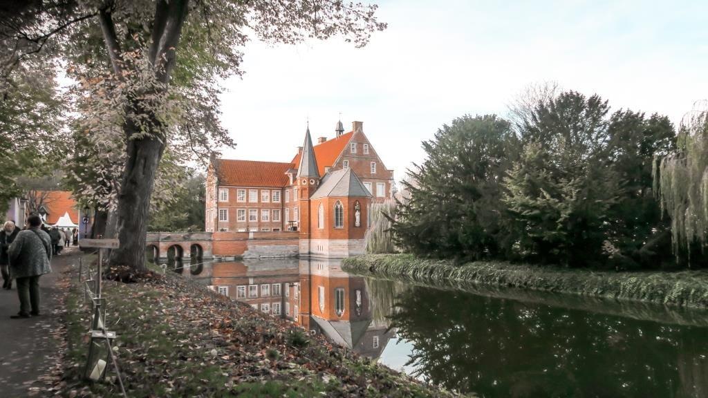 Winterträume auf der Burg Hülshoff in Havixbeck